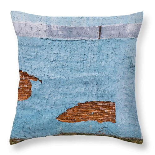 Color Throw Pillow featuring the photograph Cedartown, Georgia by Keith May