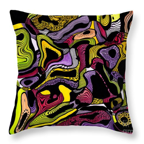 Cellular Throw Pillow For Sale By Lynellen Nielsen