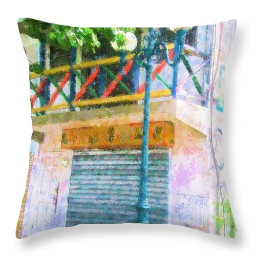 St. Martin Throw Pillow featuring the photograph Cest La Vie by Debbi Granruth