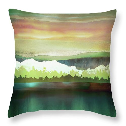 Change Throw Pillow featuring the digital art Change by Katherine Smit