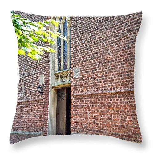 Chapel Throw Pillow featuring the photograph Chapel by Elisabeth Derichs