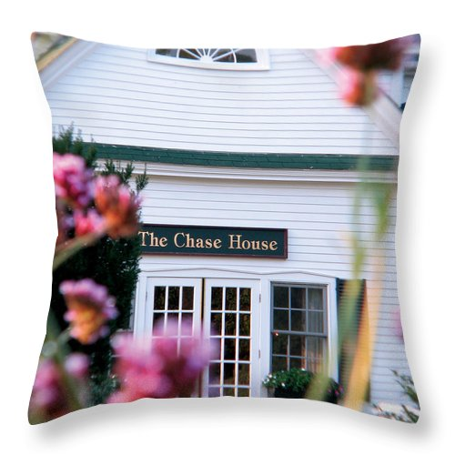 The Chase House Throw Pillow featuring the photograph Chase House by Michael Mooney