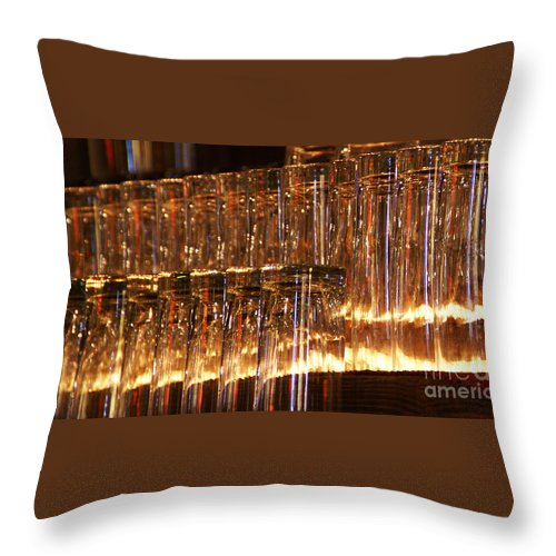 Tombstone Throw Pillow featuring the photograph Chasing Waterfalls by Linda Shafer