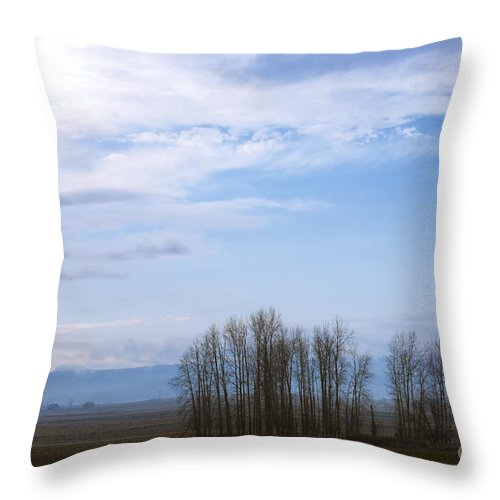 Chewelah Throw Pillow featuring the photograph Chewelah Valley by Idaho Scenic Images Linda Lantzy