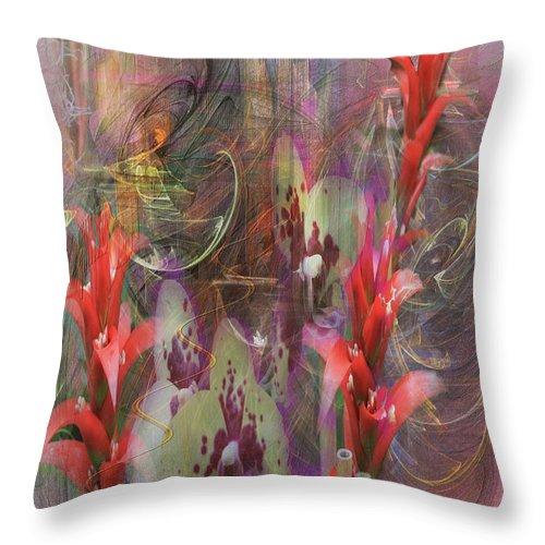 Chosen Ones Throw Pillow featuring the digital art Chosen Ones by John Beck