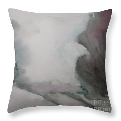 Christmas Eve Throw Pillow featuring the painting Christmas Eve by Vesna Antic