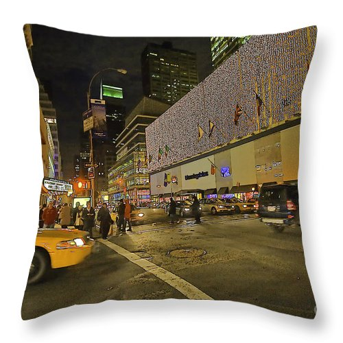 Christmas Throw Pillow featuring the photograph Christmas Time II by Madeline Ellis