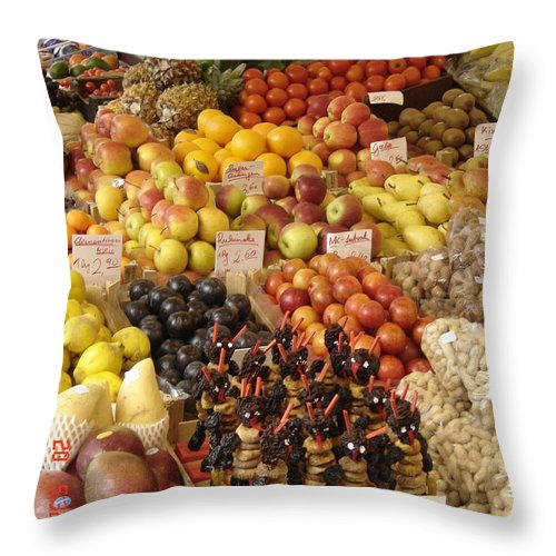 Food Throw Pillow featuring the photograph Christmas Treasures by Mary Rogers