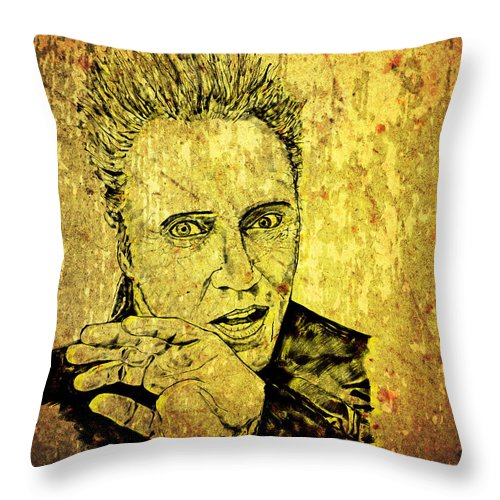 Christopher Throw Pillow For Sale By Richard Rabassa