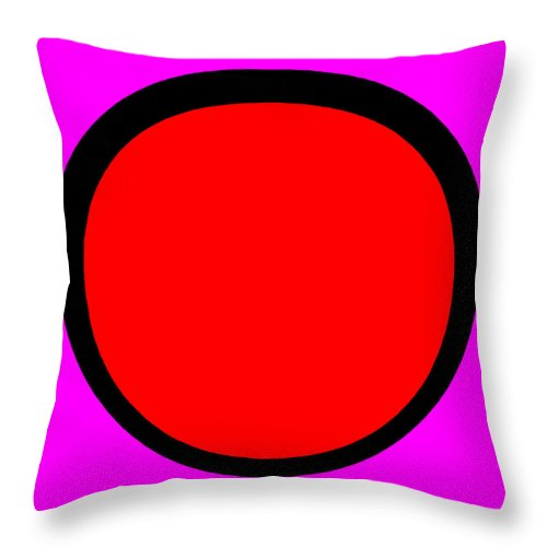 Square Throw Pillow featuring the digital art Clang by Eikoni Images