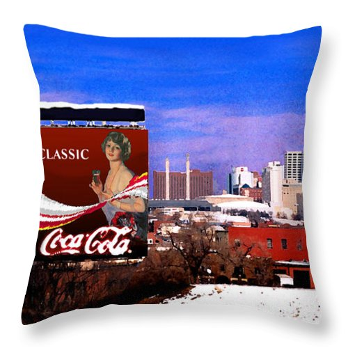 Landscape Throw Pillow featuring the photograph Classic by Steve Karol
