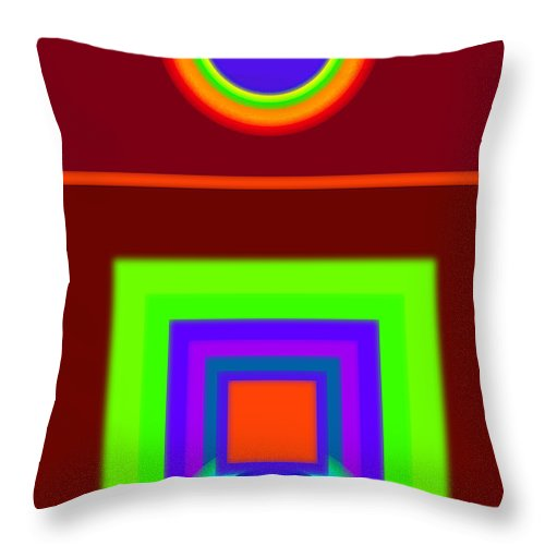 Classical Throw Pillow featuring the digital art Classical Snack by Charles Stuart