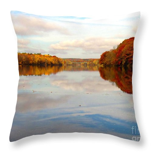 Water Throw Pillow featuring the photograph Clear Willingness by Sybil Staples