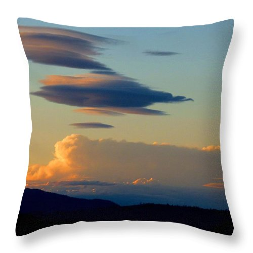 Sky Throw Pillow featuring the photograph Cloud Nine 9 by Will Borden