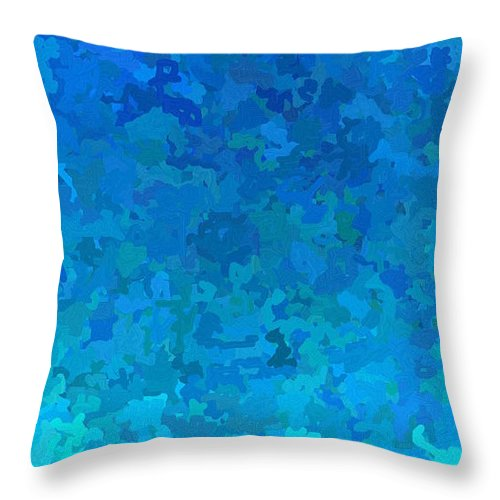 Cloud Throw Pillow featuring the digital art Clouded Thoughts Of You by April Patterson