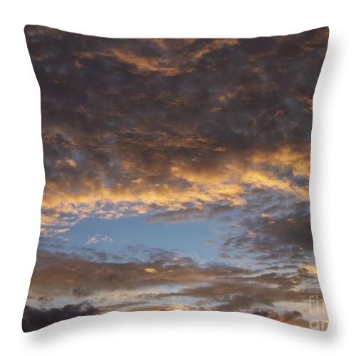 Clouds Throw Pillow featuring the photograph Clouds by Brian Commerford