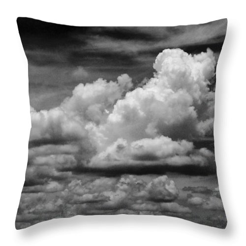 Clouds Throw Pillow featuring the photograph Clouds I I by Jim Smith