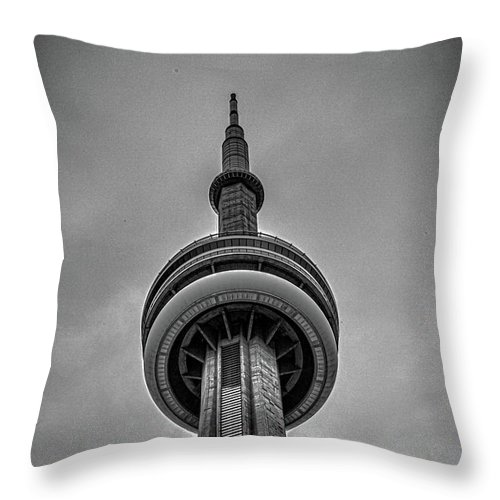 Cn Tower Toronto Throw Pillow For Sale By Martin Newman