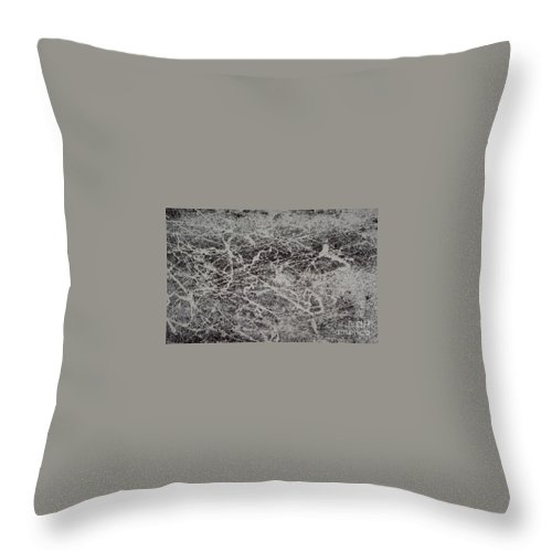 Coffee Throw Pillow featuring the painting Coffee And Cream by Elizabeth Klecker