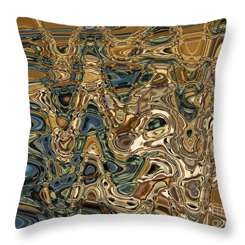 Motion Throw Pillow featuring the digital art Collision Xv by Jim Fitzpatrick