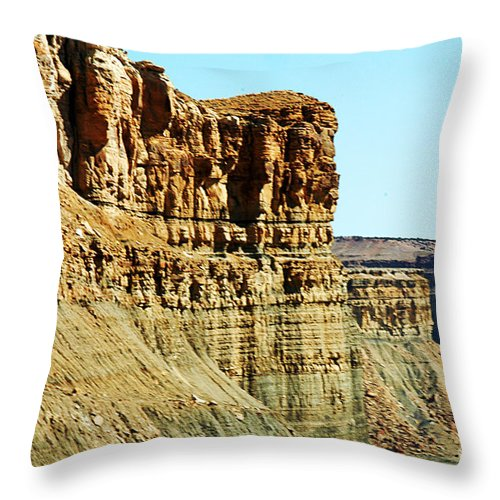 Clay Throw Pillow featuring the photograph Colorado Scenic by Clayton Bruster