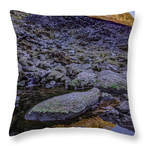 Throw Pillow featuring the photograph Comeragh Mountains 1 by Marc Daly