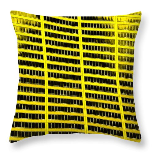 Office Throw Pillow featuring the photograph Commerce by Ian MacDonald