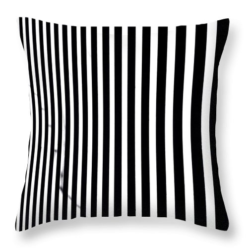 Abstract Throw Pillow featuring the photograph Continuum 5 by Steven Huszar