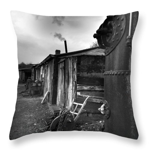 Shack Throw Pillow featuring the photograph Cool Shack by Bob Kemp