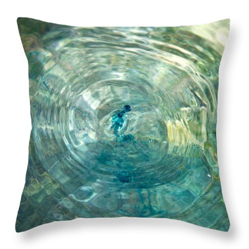 Water Throw Pillow featuring the photograph Cool Water by Betsy Knapp
