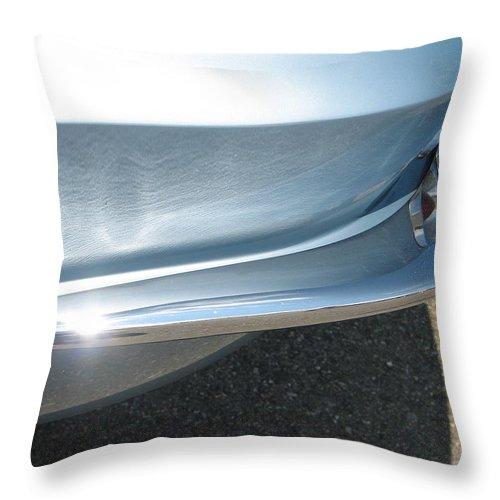 Corvette Throw Pillow featuring the photograph Corvette Waves by Kelly Mezzapelle