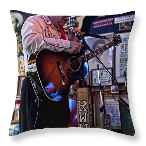 Country Throw Pillow featuring the photograph Country Boy II by Sheri Bartoszek