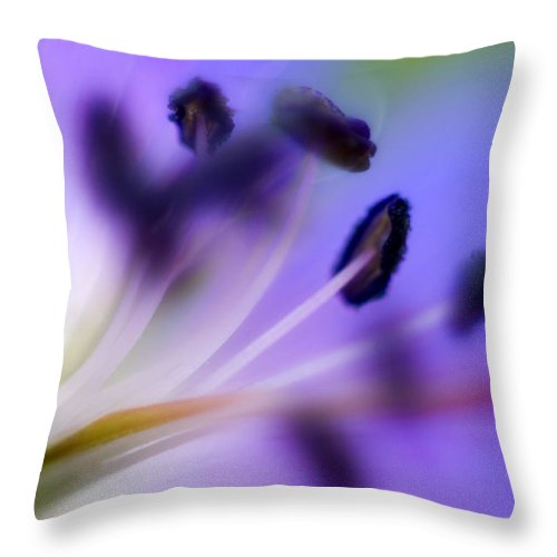 Flower Throw Pillow featuring the photograph Cransbill by Silke Magino