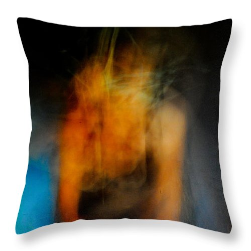 Timed Exposure Throw Pillow featuring the photograph Crawling by Scott Sawyer
