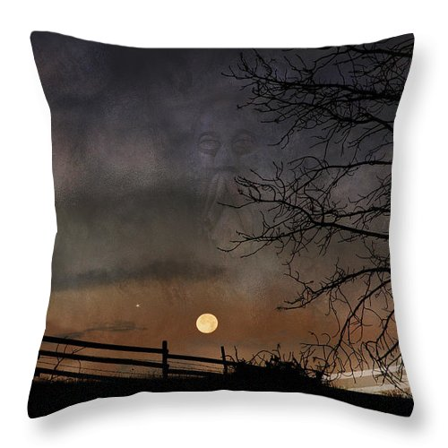 Fantasy Throw Pillow featuring the photograph Creative Contemplation by Ed Hall