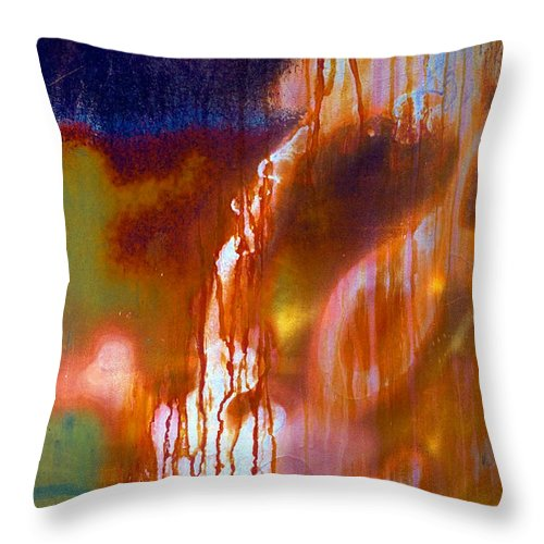 Skip Throw Pillow featuring the photograph Cry Me A River by Skip Hunt