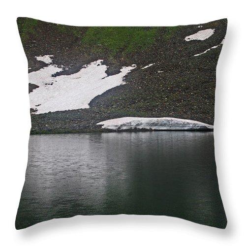 Crystal Lake Colorado Throw Pillow featuring the photograph Crystal Lake Colorado by Tom Janca