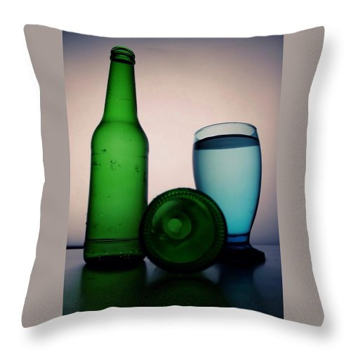 Cups Throw Pillow featuring the photograph Cups Art Work by Linda Hammad