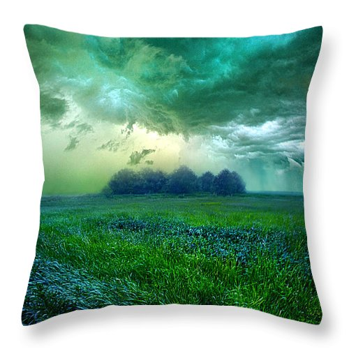 Storm Throw Pillow featuring the photograph Cutting Loose by Phil Koch