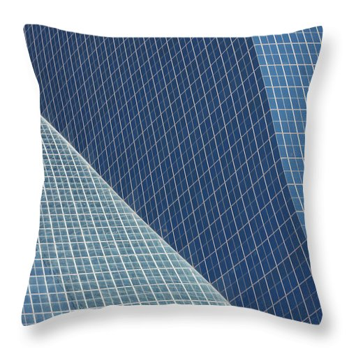 Dallas Throw Pillow featuring the photograph Dallas by Von Hoffman