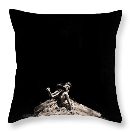 Dance Throw Pillow featuring the photograph Dance Of Motion by Scott Sawyer