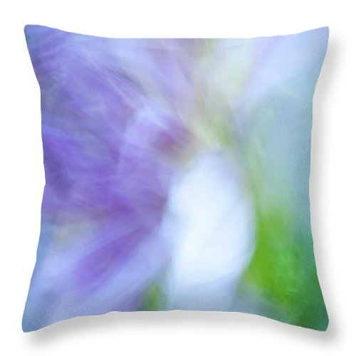 Blurred Motion Throw Pillow featuring the photograph Dancing Angel by Paul W Faust - Impressions of Light
