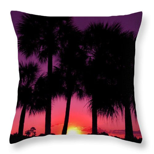 Sunrise Throw Pillow featuring the photograph Dawn Of Another Perfect Day by Kenneth Krolikowski