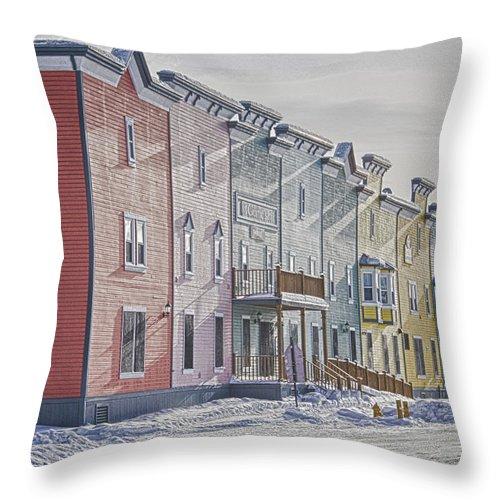 Dawson City Throw Pillow featuring the photograph Dawson City by Craig Voth