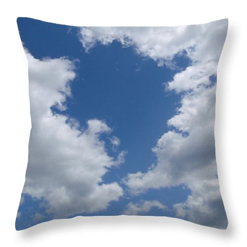 Blue Throw Pillow featuring the photograph Day Dreamer by JAMART Photography