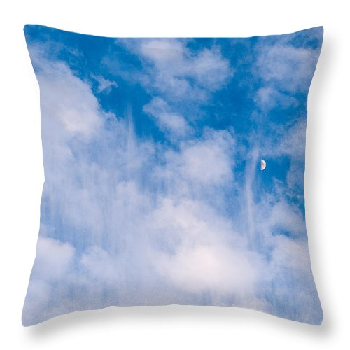 Deep Blue Throw Pillows : Deep Blue Wonder Throw Pillow for Sale by Donna Collins