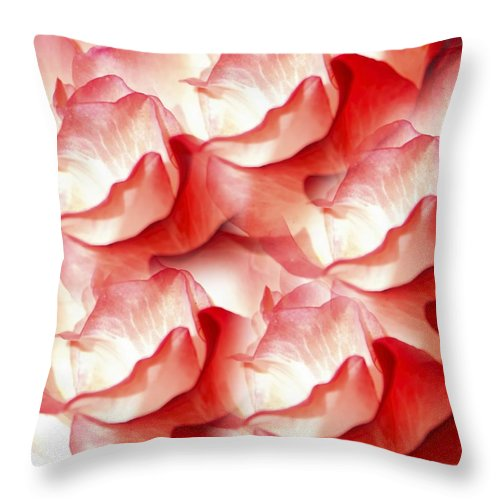 Nature Throw Pillow featuring the photograph Delicate Movement by Karen Jensen