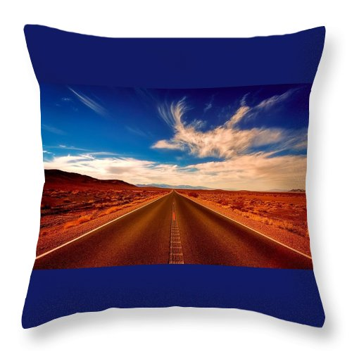 Desert Throw Pillow For Sale By Sexa
