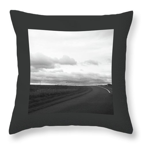 Landscape Throw Pillow featuring the photograph Destination Unknown by Taryn Bailey