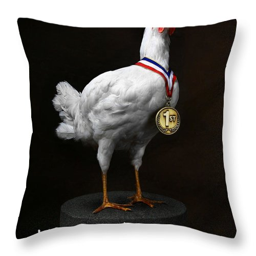 Inspirational Sayings Throw Pillow featuring the photograph Destiny by T J Hankins